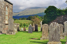 Taynuilt, Muckairn churchyard, Argyllshire © Mike and Kirsty Grundy